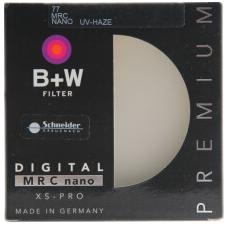 <非现货2-7日达>B+W 77mm XS-Pro 超薄多层纳米镀膜UV镜 货号300