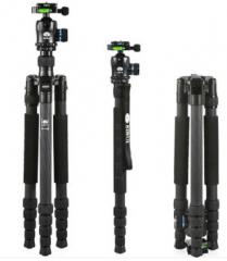 <非现货2-7日达>思锐(SIRUI)E2205+K20X 三脚架 碳材反折脚架 货号300