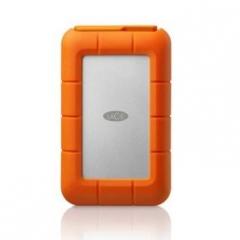 <非现货2-7日达>莱思 LaCie Rugged Min 2T 2.5英寸 保密移动硬盘 货号300