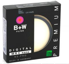 <非现货2-7日达>B+W 67mm XS-Pro 超薄多层纳米镀膜UV镜 货号300