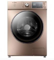 美的(Midea) MD80-1405WIDQCG 8公斤洗烘一体玫瑰金全自动滚筒洗衣机 货号590.A9