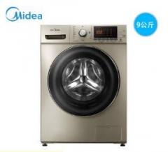 美的(Midea) MG90-1405DQCG 9公斤滚筒洗衣机大容量 全自动节能变频 货号590.A9