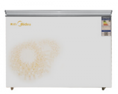 美的(Midea)BD/BC-295KM 295L 商用冷冻冷藏卧式冷柜  DQ.1066