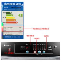现货隔日达    小天鹅洗衣机  7KG TB70-1208WH WIFI控制 全自动波轮洗衣机   货号MD12580
