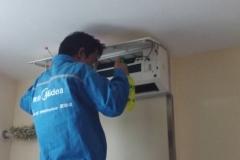 5匹柜机空调清洗维保