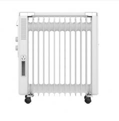 现货 2日达  美的(Midea) 电暖器家用 油汀取暖器电暖气13片 NY2513-16FW  货号MD12580
