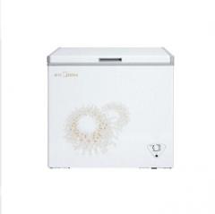 美的 Midea BD/BC-197KMA 197L卧式顶开门冰柜 单温冷冻冷藏 旋律金 MD12580