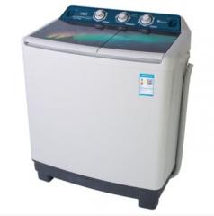 小天鹅(LittleSwan) TP100-S988 10公斤KG双桶双缸双筒大容量半自动波轮洗衣机 灰色  MD12580