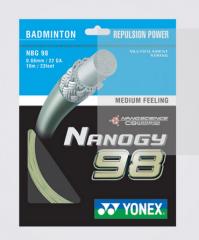 尤尼克斯羽毛球线NANOGY 98,货号008.ZH094