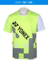 尤尼克斯(YONEX)男女款羽毛球运动上衣,货号008.ZH015 男175