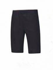 2018李宁男士运动生活系列短裤黑色AKSN555,货号008.ZH234