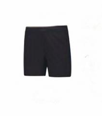 2018李宁女士运动生活系列短裤黑色AKSN222,货号008.ZH235