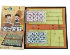 正品友明儿童磁石折叠中国象棋,便携中国象棋大号套装,货号008.ZH312