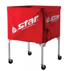 世达(STAR)球框 球类收纳四角XZ100可移动折叠,货号008.ZH315
