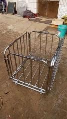 三强折叠式足、篮、排球收纳球车,货号008.ZH339
