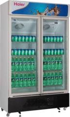 海尔(Haier)SC-450G 商用冰柜透明玻璃门展示柜冷藏柜冷柜 DQ.1069