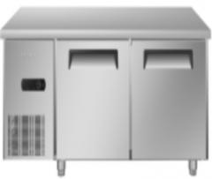 现货次日达 海尔(Haier)保鲜操作台冷藏保鲜不锈钢操作台冰柜 货号009 SP-430C2