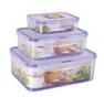 现货次日达 保鲜盒塑料保鲜盒套装 密封饭盒 微波炉便当盒 冰箱收纳盒 货号009 小号