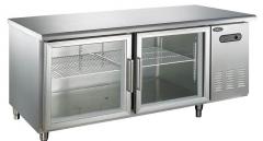 莱福特玻璃门平冷工作台 1200*800*800