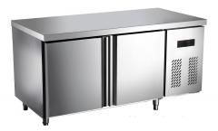 莱福特    双门平台冷柜