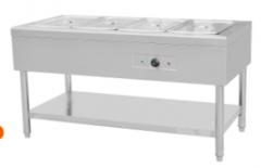保温售饭箱商用保温售饭箱 电热保温汤池不锈钢快餐车 货号009