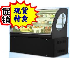 康佰特蛋糕展示柜蛋糕柜商用冷藏蛋糕展示柜直角弧形风冷保鲜柜水果饮料保鲜 货号009.