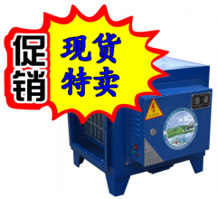 华夏之星环保认可厨房空气油烟净化器饭店餐饮烧烤商用静电分离器8000风量 货号009