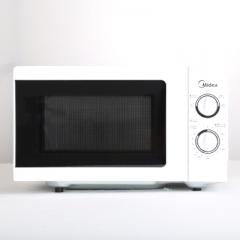 美的 家用微波炉迷你多功能机械式玻璃转盘  货号009