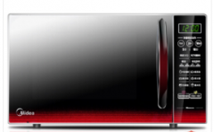 美的(Midea)EM7KCGW3-NR 快捷微波炉 微电脑操控 平板加热 智能蒸煮菜单 20升   货号009