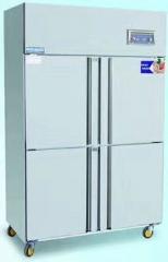 香港奥克斯四门冰箱商用4门6门冰柜冷冻柜厨房冷柜冷藏冷冻立式柜保鲜柜    货号009