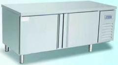 香港奥克斯平冷工作台饭店后厨冷藏保鲜水吧奶茶店商用卧式冰箱冷冻柜    货号009