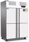美厨     四门商用不锈钢冰箱超大容量双温全冷冻藏保鲜冰柜  货号009