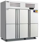 美厨   商用立式冰箱六门厨房餐厅酒店双温冷藏冷冻保鲜冷柜   货号009