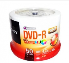 索尼(SONY)DVD-R刻录盘 50片桶装  货号013.LK