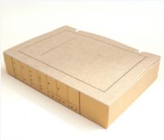 现货隔日达 GC牛皮纸档案盒 3cm  货号013.LK