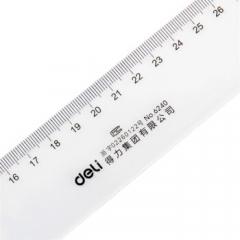 得力(deli)6240 40cm塑料直尺 (20个起送)  货号013.LK