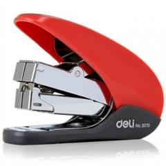 得力(deli)0370 省力型订书机(12#钉) 颜色随机(5个起送)  货号013.LK