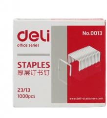 得力0013厚层订书针 20盒起送 货号013.LK