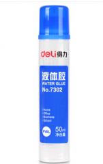 得力(deli)7302 高粘度50ml胶水 24只/盒  1盒起送  货号013.LK
