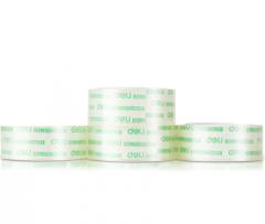 得力(deli)30079 透明文具胶带18mm*18m   12卷起送  货号013.LK