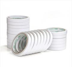得力(deli)30401 棉纸双面胶带12mm*10y(9.1米) 24卷/袋装  10袋起送 货号013.LK