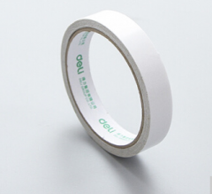 得力(deli)30402 棉纸双面胶带18mm*10y  10袋起送 货号013.LK