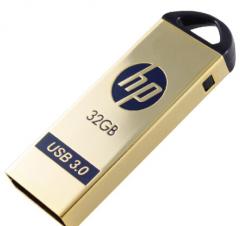 现货次日达 惠普(HP) x725w 32G 3.0金色U盘 10个/组  货号013.LK