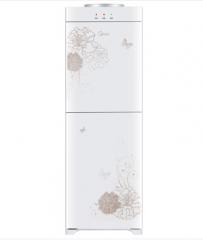 美的(Midea)饮水机 立式家用温热小型迷你 YR1226S-W 白色  货号013.LK