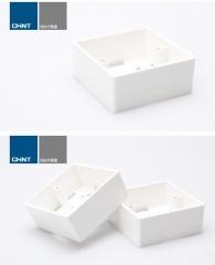 ADP正泰开关插座明装盒86型塑料明盒插座底座货号099.L24