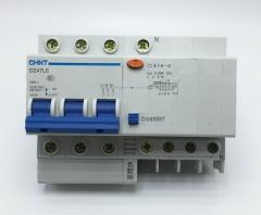 正泰漏保三相四线漏电断路器DZ47LE 3P+N C50A 漏电开关货号099.L84