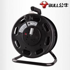 公牛线盘漏电保护移动拖线GN-807/2*1.5平方20米电缆盘线轴 绕线盘卷线盘货号095.S1