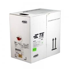 ADP安普AMP 超五类网线 6-219507-4 白箱 非屏蔽 工程线 305米货号099.L90