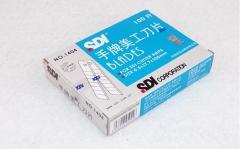 现货隔日达  SDI手牌1404美工刀18mm大号刀片1404墙壁纸裁纸切 10个/组 货号016.LG3046