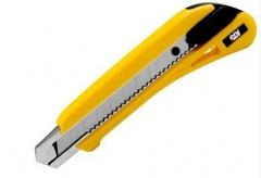 现货隔日达 手牌美工刀3050C18mm大号美工刀 壁纸刀 5把/组 货号016.LG3050